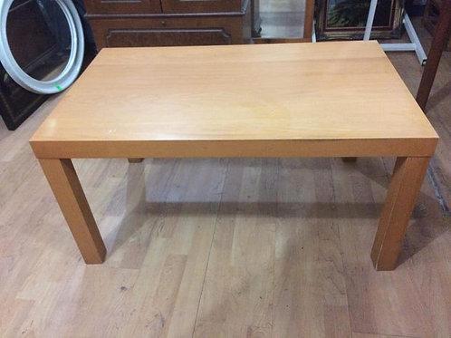 Light wood table