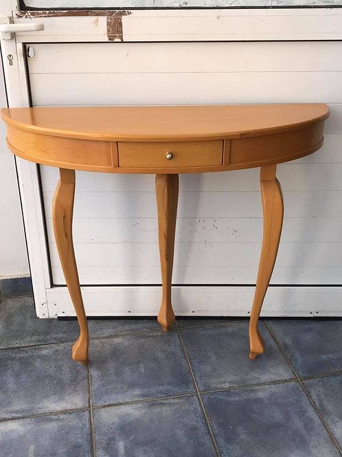 Beautiful tri-legged half moon entrance hall table/dressing table