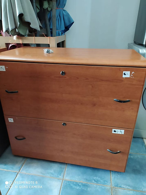 Large high quality lockable filing cabinet (four available)