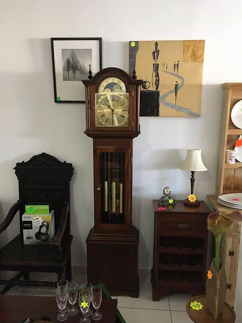 Fenclocks of Suffolk Granddaughter Clock in Yew