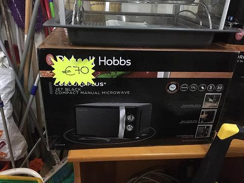 Brand new black Russell Hobbs microwave