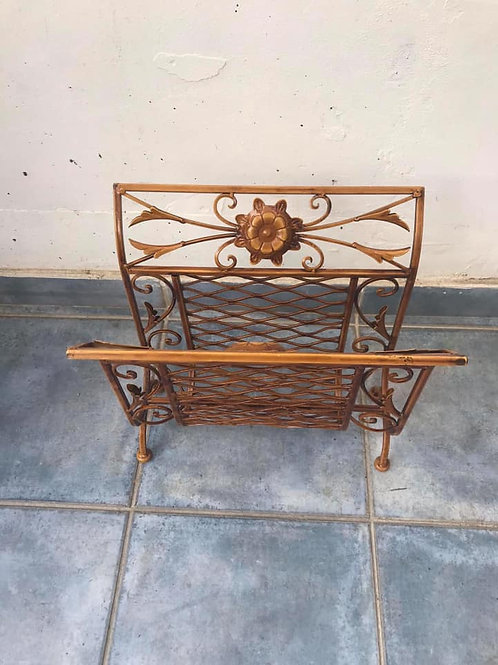 Lovely ornate magazine rack
