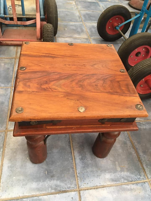 Beautiful Indian wood occasional table