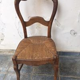 Vintage Cypriot village chair