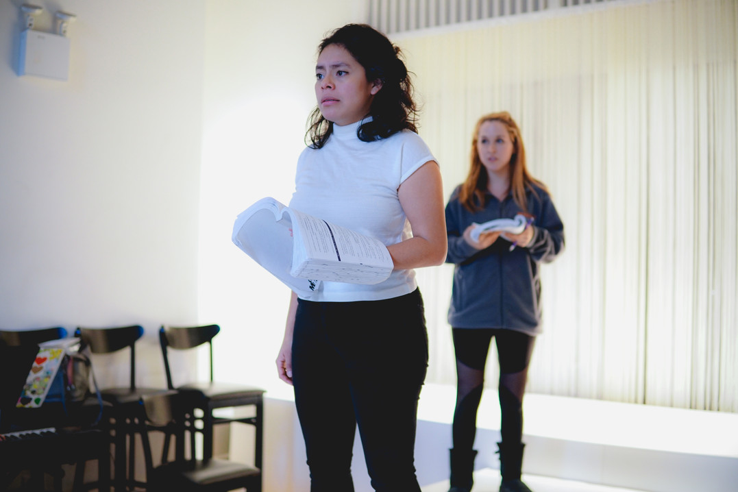 Into The Woods Rehearsal Photo