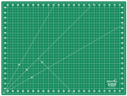 """Professional Self-Healing Double Sided Rotary Cutting Mat 18"""" x 24"""""""