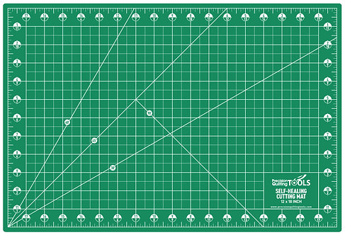 """Professional Self-Healing Double Sided Rotary Cutting Mat 12"""" x 18"""""""