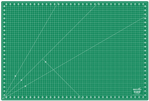 Precision Quilting Tools Professional Self-Healing Double Sided Cutting Mat