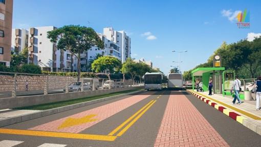 Smart street in Ashdod