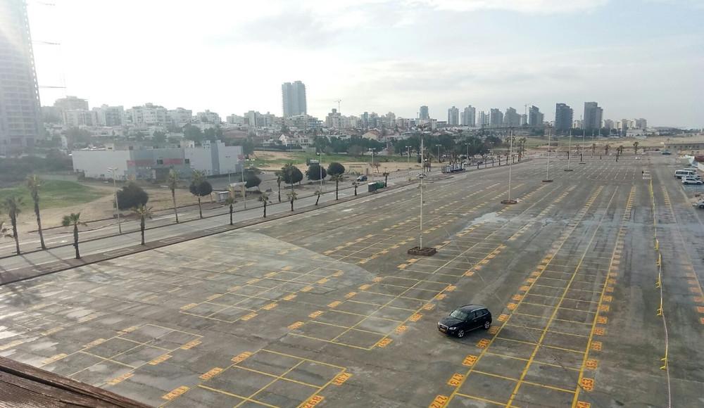 Autonomous v test in Ashdod