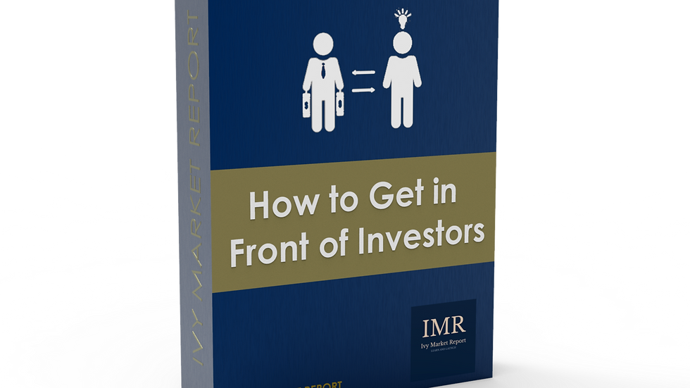 How to Get in Front of Investors - Lifetime Membership!
