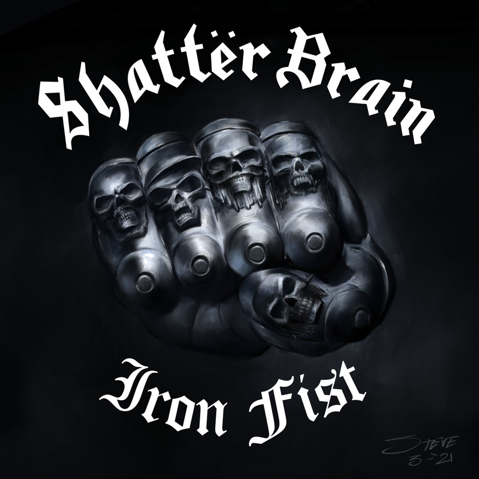 SHATTER BRAIN RELEASE VIDEO FOR COVER OF MOTORHEAD'S 'IRON FIST', MIXED BY KURT BALLOU