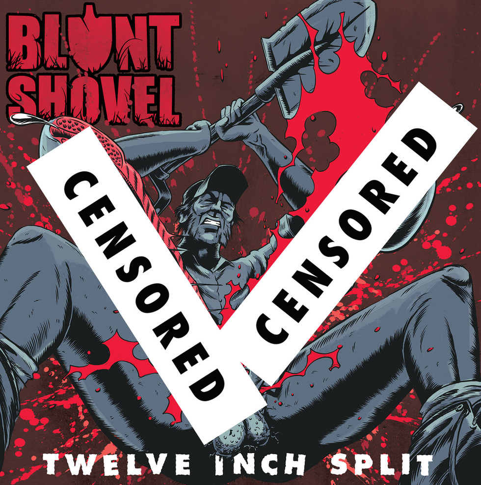 BLUNT SHOVEL AND SHATTER BRAIN ANNOUNCE 'TWELVE INCH SPLIT' VINYL RELEASE AND TOUR