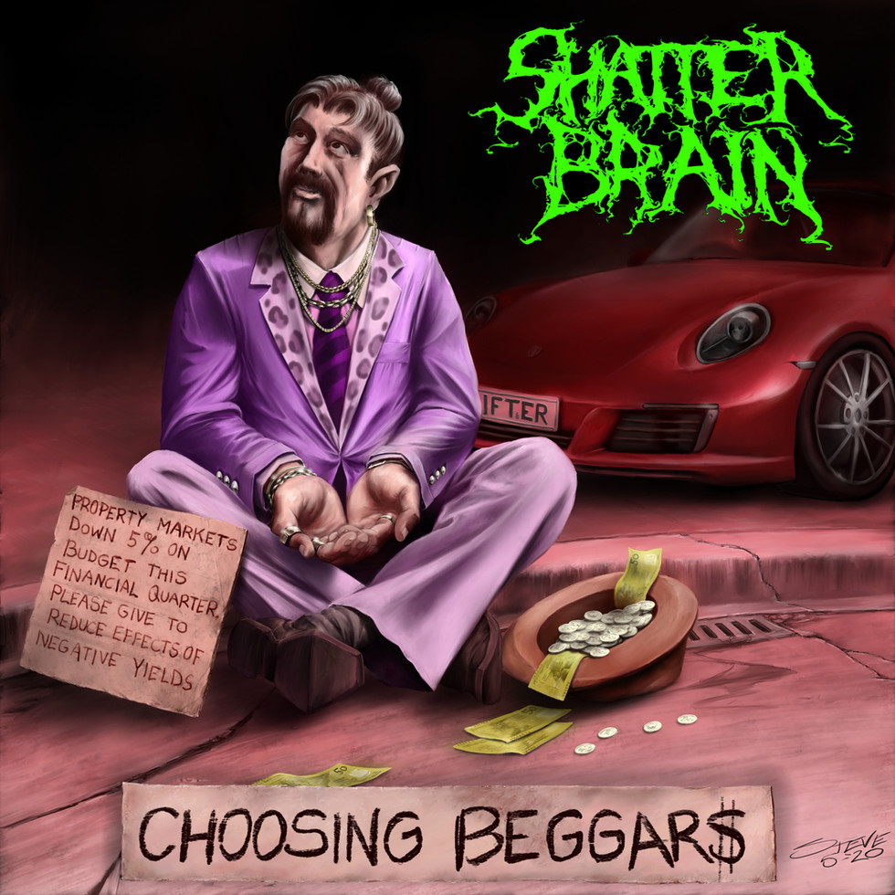 CHECK OUT THE NEW ANIMATED LYRIC VIDEO FOR 'CHOOSING BEGGARS'!