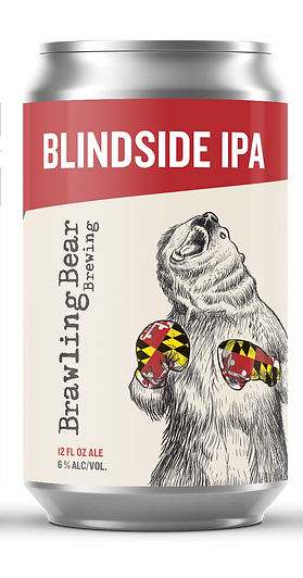 Can Mockup - BB Blindside IPA - 12oz - T