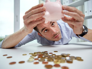Har du penger igjen på konto når det nærmer seg lønningsdag?