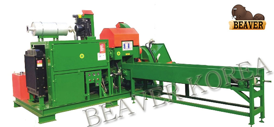 Sawdust Blower System : Sawdust chip machine engine