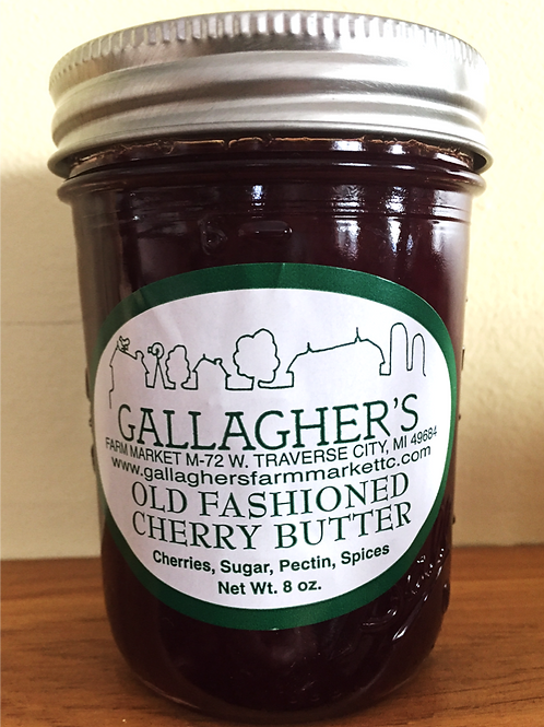 Old Fashioned Cherry Butter
