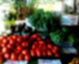 Fresh vegetables in season