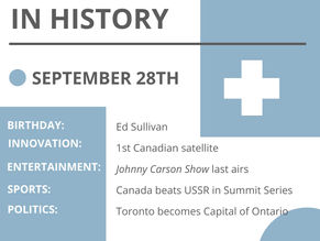 Sept. 28: This Day in History