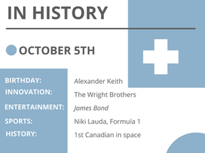 Oct. 5: This Day in History