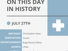 July 27: This Day in History