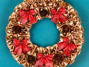 Pasta Christmas Wreath