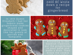Fun Facts: Gingerbread Cookies