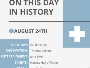 August 24: This Day in History