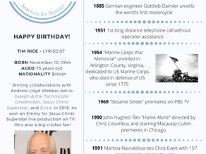 Nov. 10: This Day in History