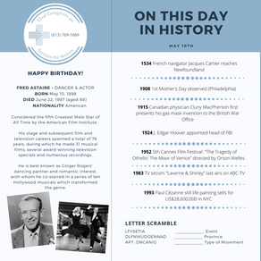 May 10: This Day in History