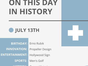 July 13: This Day in History