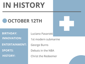 Oct. 12: This Day in History