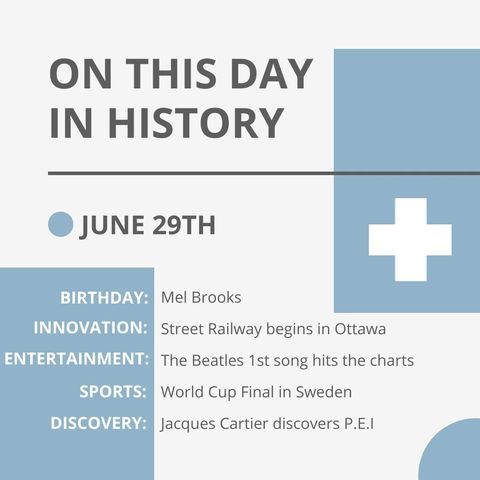 June 29: This Day in History