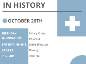 Oct. 26: This Day in History