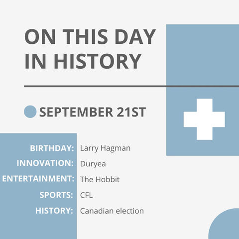Sept. 21: This Day in History