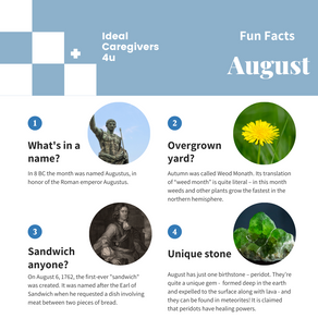 Fun Facts: August