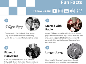 Fun Facts: 'I Love Lucy' Day!