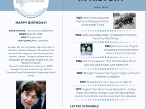 May 25: This Day in History