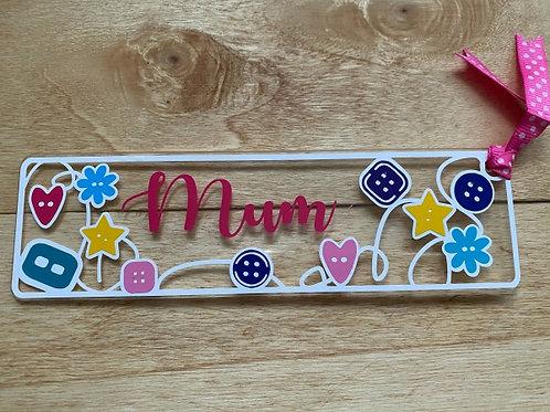 Mum Bookmark