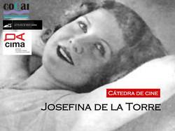 CHAIR OF CINEMA JOSEFINA DE LA TORRE