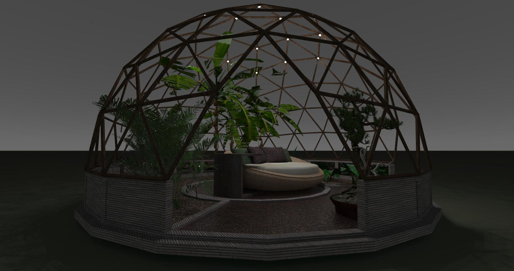 6x6 garden dome designs77