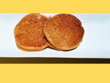 #007 バナナとにんじんのパンケーキ