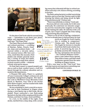 Story inside Creswell's Newcomers magazine