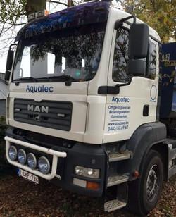 Aquatec vrachtwagen