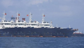 China Enters Philippine Waters with 220 Ships