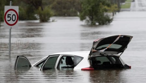 """Sydney Hit by """"Once in 100 Years"""" Flooding."""