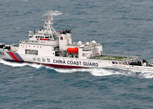 China Authorises its Coast Guard to Open Fire on Foreign Vessels