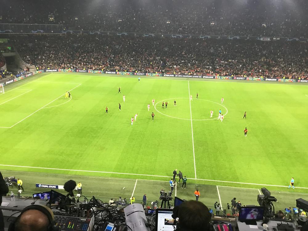 Ajax 0 v Chelsea 1 Photo by Paul Lagan