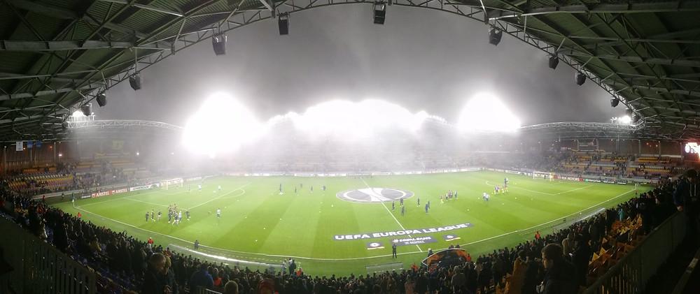 Borisov Arena. Photo Dan Levene @danlevene